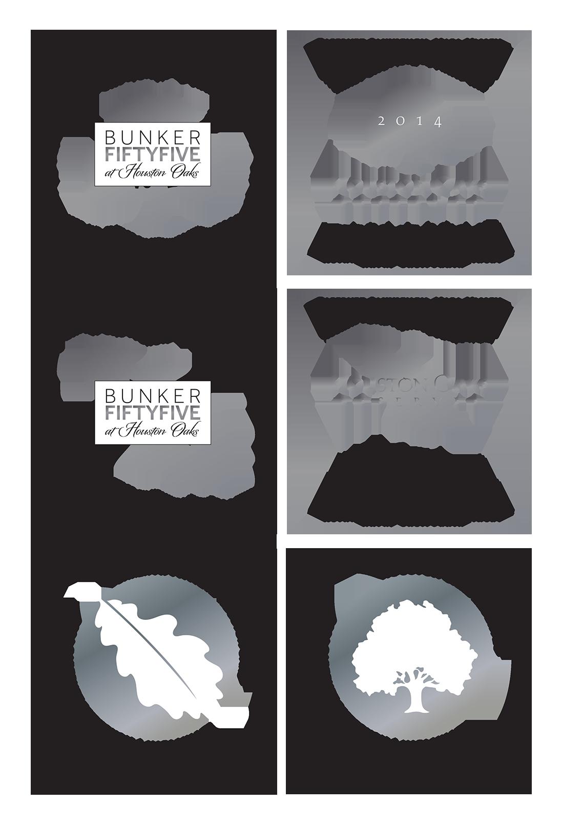 Houston Oaks Wine Label Concepts