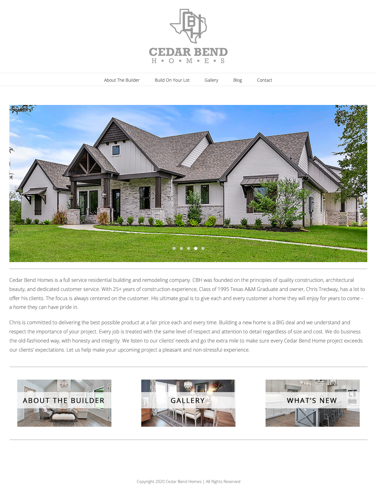 CBH New Website